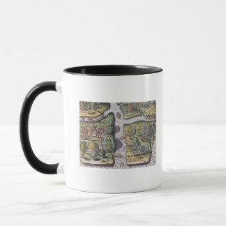 The French left at Fort Charles suffering Mug