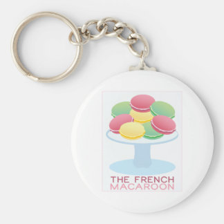 The French Macaroon Key Chain