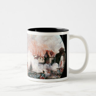 The French Observation Balloon, Two-Tone Coffee Mug