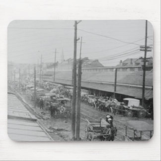 The French Quarter 1905 Mouse Pad