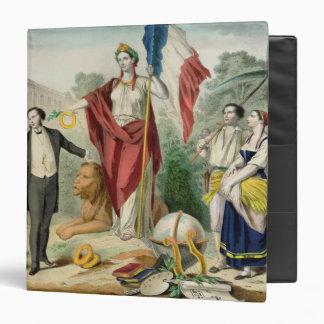 The French Republic Vinyl Binder