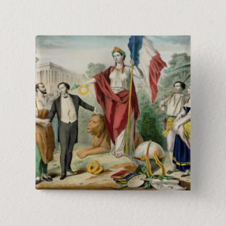 The French Republic Button