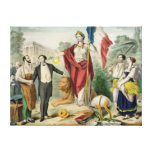 The French Republic Canvas Print