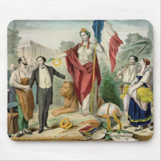 The French Republic Mouse Pad