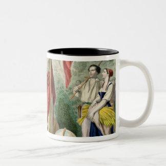 The French Republic Two-Tone Coffee Mug