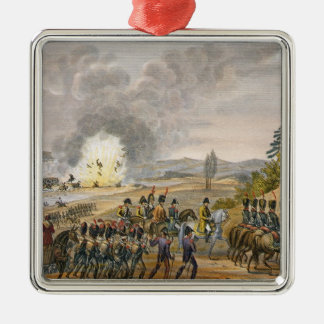 The French Retreat after the Battle of Leipzig, 19 Metal Ornament