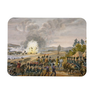 The French Retreat after the Battle of Leipzig, 19 Rectangular Photo Magnet