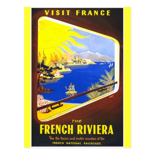 The French Riviera Postcard
