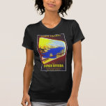 The French Riviera VIntage Travel Poster T-Shirt