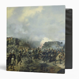 The French-Russian battle at Malakhov Kurgan 3 Ring Binder