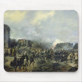 The French-Russian battle at Malakhov Kurgan Mouse Pad