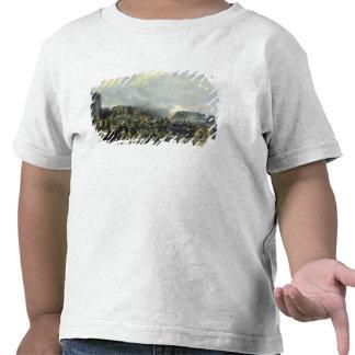 The French-Russian battle at Malakhov Kurgan T Shirts