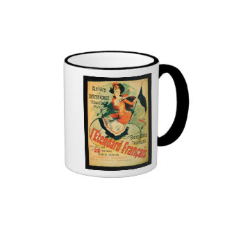 'The French Standard', poster advertising the 'Ate Coffee Mugs