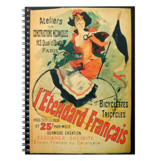 'The French Standard', poster advertising the 'Ate Notebooks
