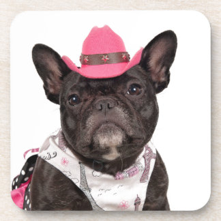 The Frenchie Beverage Coasters