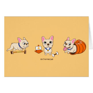 The Frenchie Note Card