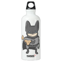 The Frenchieman Superhero Water Bottle