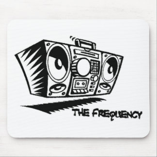 The Frequency mouse pad