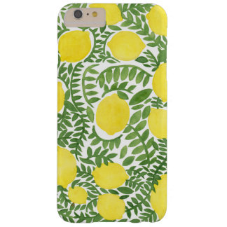 The Fresh Lemon Tree Barely There iPhone 6 Plus Case
