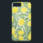 "The Fresh Lemon Tree iPhone 8 Plus/7 Plus Case<br><div class=""desc"">Lemon is native tree from Asia. Lemon fruit is usually use for culinary or non-culinary purpose. The first lemon tree was grown in India,  Burma,  and China. The illustration pattern is done with watercolor.</div>"