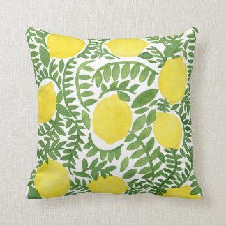 The Fresh Lemon Tree Pillow