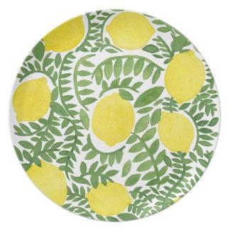 The Fresh Lemon Tree Plate