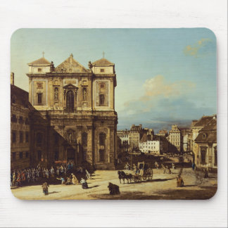 The Freyung in Vienna, view from the Northwest, c. Mouse Pad
