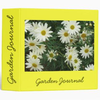 """The Friendliest Flower Garden Journal - Avery 2"""" 3 Ring Binder"""