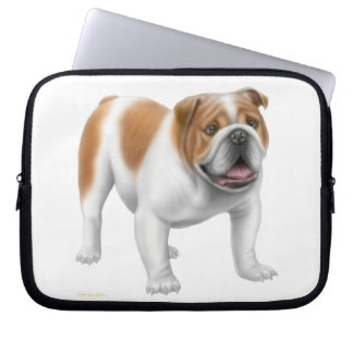 The Friendly English Bulldog Electronics Bag
