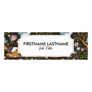 The Friendly Forest Mini Business Card