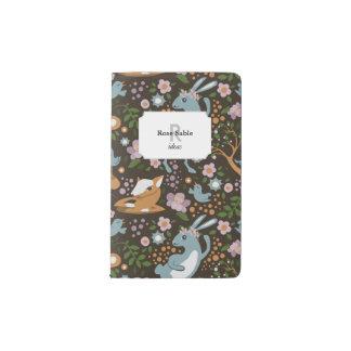 The Friendly Forest Pocket Moleskine Notebook