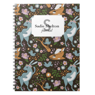 The Friendly Forest Spiral Notebook