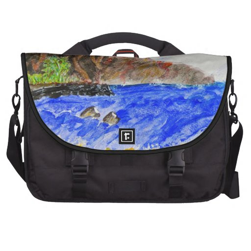 The Friendly Isle Laptop Messenger Bag