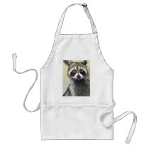 The Friendly Raccoon Adult Apron