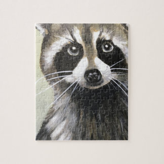 The Friendly Raccoon Jigsaw Puzzle