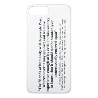 The Friends of Humanity Will Deprecate War iPhone 8 Plus/7 Plus Case