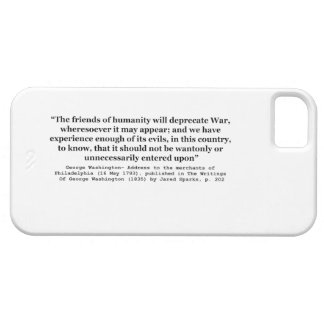 The Friends of Humanity Will Deprecate War iPhone SE/5/5s Case