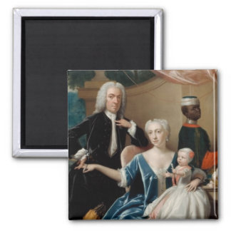 The Friesheim Family by Philip Van Dijk Magnet