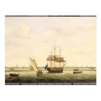 The Frigate 'Surprise' at Anchor off Great Yarmout Postcard