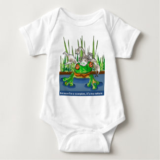 The Frog and Scorpion Baby Bodysuit