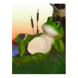 The Frog and the Snail Postcard