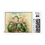 The Frog Band Postage Stamp