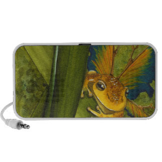 The Frog Faery Doodle Mp3 Speakers