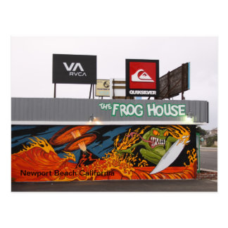 The Frog House Postcard