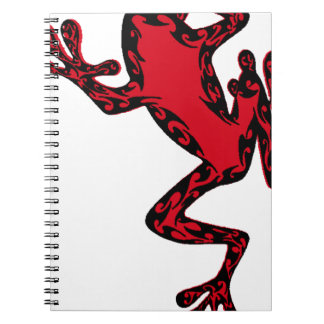 the FROG life Spiral Notebook