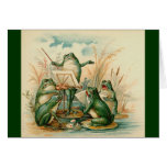 The Frog Musicians Card
