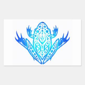 the FROG patterns Rectangular Sticker