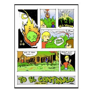 The Frog Pond - 'Spinage Incident' part I Postcard