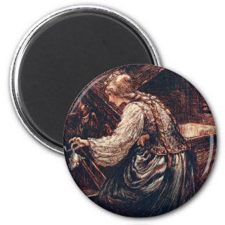 The Frog Prince 2 Inch Round Magnet