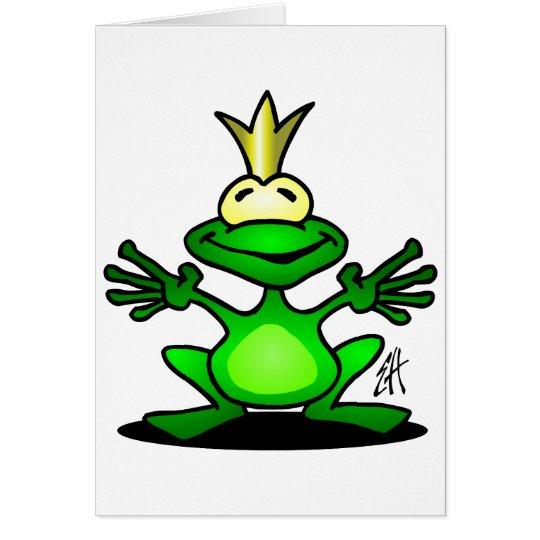 The Frog Prince Card